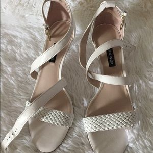 Nine West White Shoe